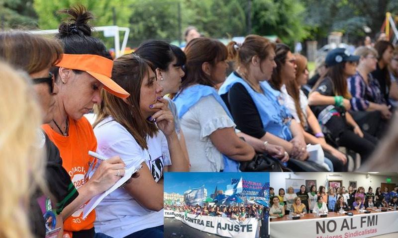Tercer encuentro de mujeres sindicalistas